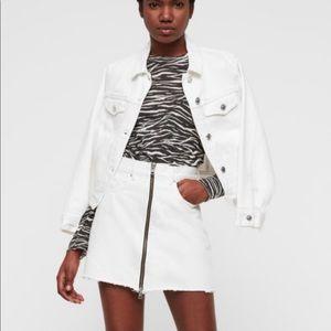 Lomo Denim Skirt by ALLSAINTS